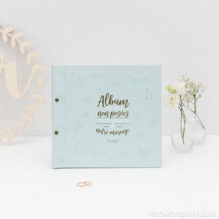 Album photos de mariage non posées et des éclats de dire mariage