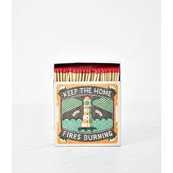 Grande boîte allumettes Home fires 10 cm x 150