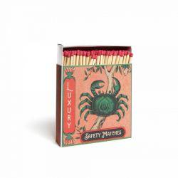 Grande boîte d'allumettes Crabes Archivist