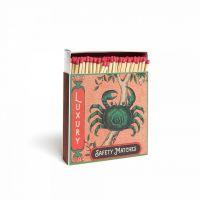 Grande boîte allumettes Crab 10 cm x 150