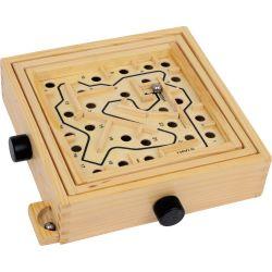 Labyrinthe à bille enfant, en bois