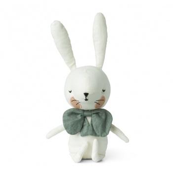 Peluche lapin blanc 18 cm Picca Loulou