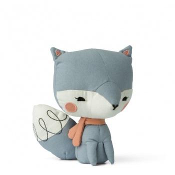 Peluche renard bleue 18 cm Picca Loulou