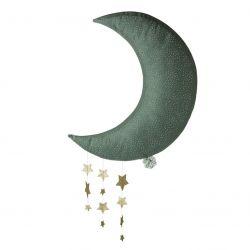 Lune grise avec étoiles 45 cm Picca Loulou