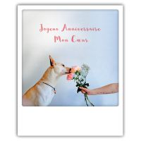 Carte pickmotion - Joyeux anniversaire mon coeur