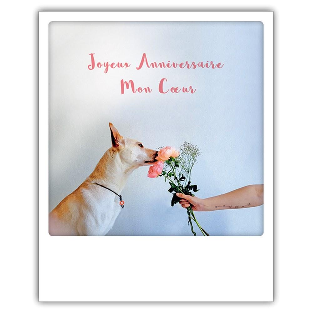 Carte Pickmotion Joyeux Anniversaire Mon Coeur