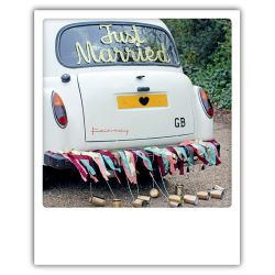 Carte pickmotion - Just married