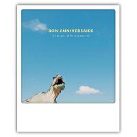 Carte pickmotion - Bon anniversaire vieux dinosaure