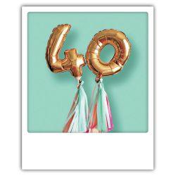 Carte pickmotion - 40 ans
