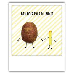 Carte pickmotion - Meilleur papa du monde