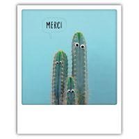 Carte pickmotion - Merci cactus