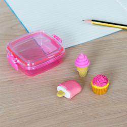 Ensemble de mini gommes glaces sucreries
