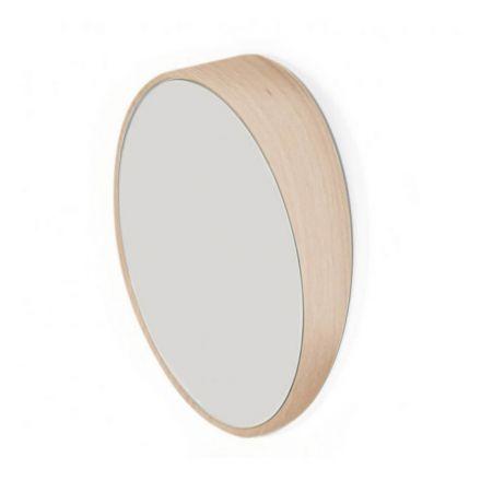 Miroir odilon en chêne naturel