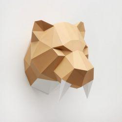 Tigre dents de sabre - Origami Assembli