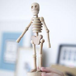 """Squelette en bois """"lazy bones"""""""