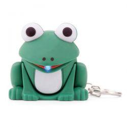 Porte clef LED grenouille