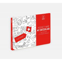 Pocket map Suisse Omy Design and Play