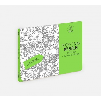Pocket map my berlin Omy Design and Play
