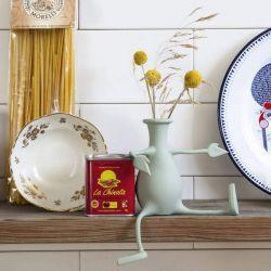 Vase personnage en silicone mint Florino
