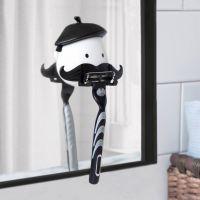 Mr rasoir et sa moustache porte rasoir