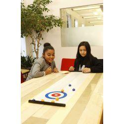 Jeu de curling pour table
