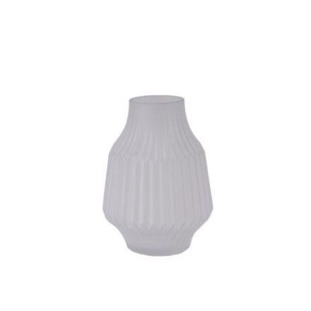 Vase en origami transparent - 19 cm