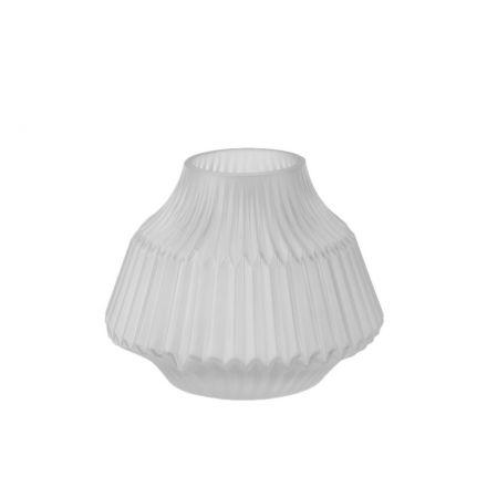 Vase en origami transparent - 13 cm