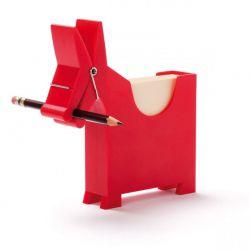 Porte Bloc-notes L' âne Morris Rouge