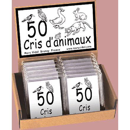 50 cris d'animaux