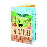 Livre pop-up - Dessus dessous - La nature