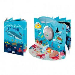 Livre pop-up à 360° - La mer