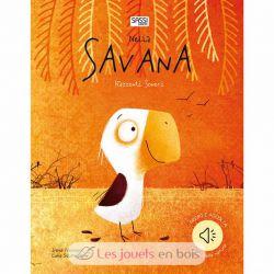 Livre récits sonores - Dans la savane
