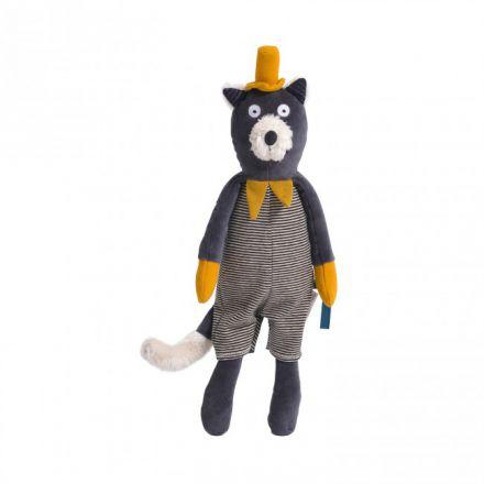 Poupée chat gris Alphonse Les Moustaches