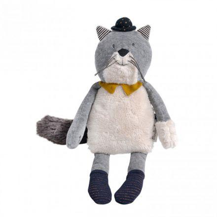 Poupée chat gris Fernand