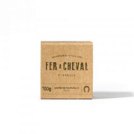 Savon de Marseille Brut cube de 100g olive Fer à Cheval
