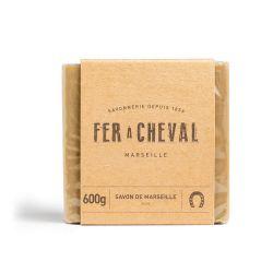 Savon de Marseille Brut cube de 600g olive Fer à Cheval