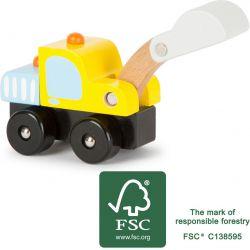 Camion de chantier pelleteuse