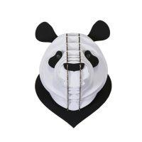 Tête de panda en carton