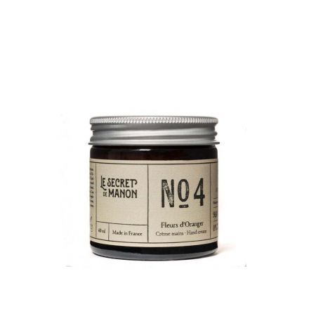 Crème pour les mains - Fleurs d'oranger - Numéro 4 Le secret de Manon