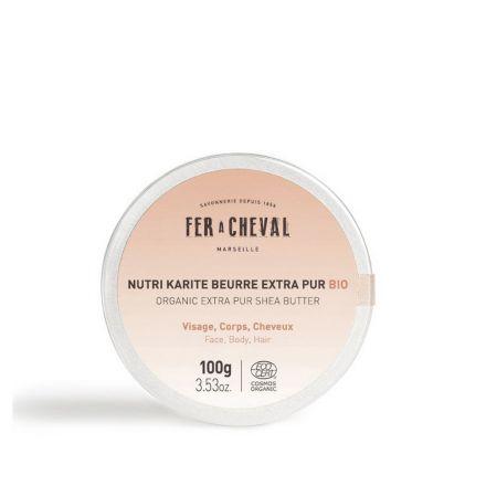 Nutri karite beurre extra pur bio - Cosmetique Fer à Cheval