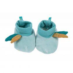 Chaussons bleus - Le voyage d'Olga