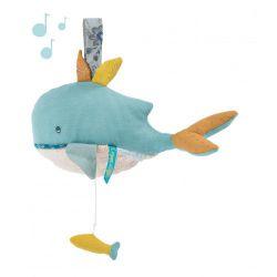 Poupée musicale baleine - Le voyage d'Olga