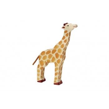 Animal en bois - Holztiger - Girafe