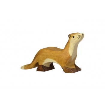 Animal en bois - Holztiger - Putois