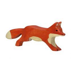Animal en bois - Holztiger - Renard