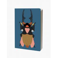 Cahier A4 - Stag bettle 128 pages