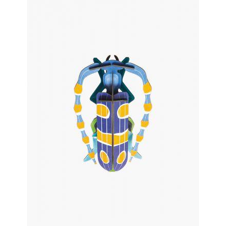 Insecte Bleu et jaune en 3D - Rosalia Beetle - Studio Roof