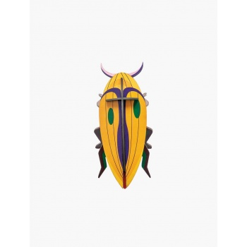 Insecte jaune en 3D - Click Beetle - Studio Roof