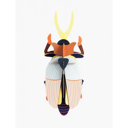 Coléoptère en 3D - Rhinoceros beetle - Studio Roof