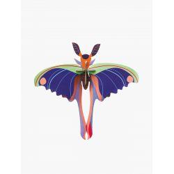 Petit papillon en 3D - Blue comet - Studio Roof